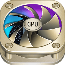 CPU Cooler - Cooling Master, Phone Cleaner Booster Logo
